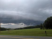 Storm Clouds in Hillsborough... Highland Farm Rd