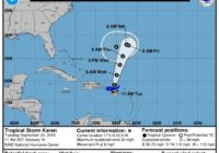 Wilmington: Tropical Storm Karen worth watching
