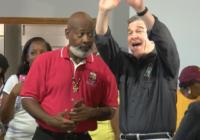 Gov. Cooper visits Cape Fear after Hurricane Dorian strikes