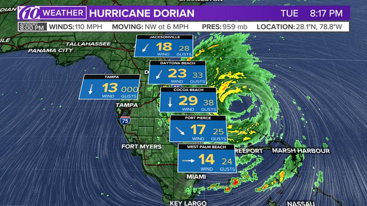 dorian winds 8p 9 3 19
