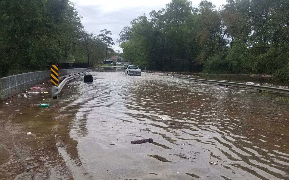Flooding in Lakewood.
