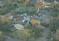 North Dallas neighborhood devastated after tornado rips through