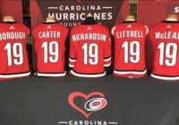Carolina Hurricanes auctioning off Backstreet Boys' show-worn jerseys