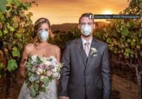 Kincade Fire: Couple gets married at California vineyard near massive wildfire