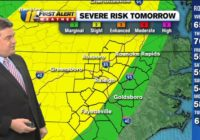 Quick-hitting storms, damaging winds possible on Halloween