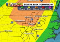Enhanced risk of severe weather for parts of NC on Halloween
