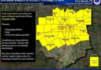 Tornado in north Dallas causing 'significant damage,' meteorologists say