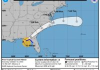 Tropical Storm Nestor still on track to bring rain, wind to Wilmington