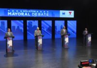 Houston mayoral debate touches on flooding, budget issues and more