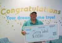NC man wins $100,000 lottery scratch off, vows to help hurricane victims
