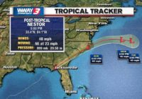 The Latest: Nestor brings rain, tornado warnings to Georgia
