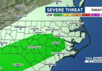 Severe weather possible Sunday, cool down coming in time for NC State Fair