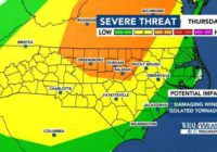 With level 3 risk for severe weather, trick-or-treaters should start early, pay attention