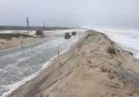 Photos: Overwash, flooding and wind damage in NC Outer Banks