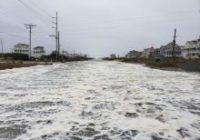 Overwash, flooding and wind damage in NC Outer Banks