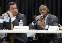 Houston mayor's race: crime, flooding, Trump are all issues