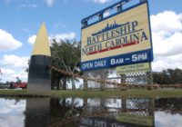 Battleship North Carolina to close early Tuesday due to flooding