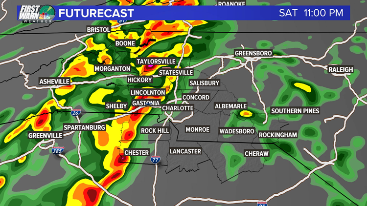 severe weather futurecast
