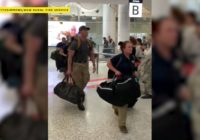 VIDEO: US firefighters met with applause arriving at Australia airport to help battle wildfires