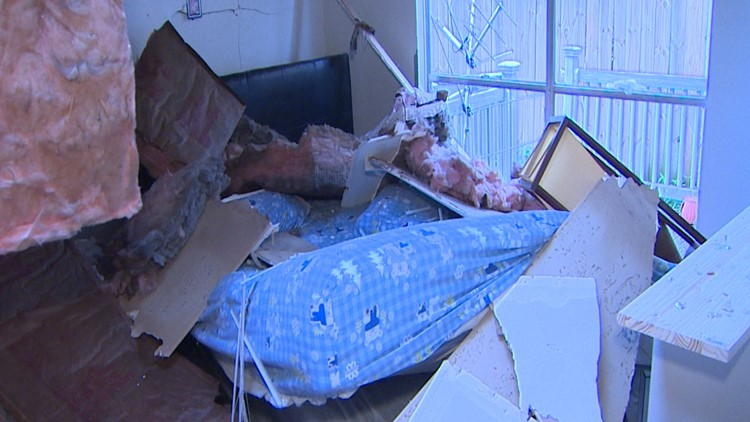 Watson Explosion Damaged Home