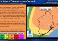 NWS Houston narrows timing, expands scope of severe weather threat Friday night