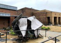 Tornado hits school as strong winds, heavy rain rip through Carolinas