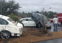 Tornado hits another South Carolina school