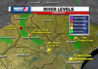River flooding expected this week in the Cape Fear