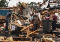Tornado tears through Arkansas college town, with 6 hurt