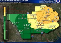 NWS: Severe thunderstorms Friday could bring large hail, damaging winds to San Antonio
