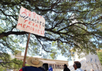 Protestors At Alamo Defend Cenotaph; In Boerne, They Want Businesses Reopened