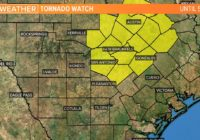 Tornado Watch remains in effect for Bexar County until 5 p.m.