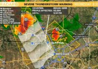 Bexar County under a Severe Thunderstorm Warning; Tornado Warning expires for Kendall, Kerr Counties