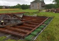 Shed destroyed; powerlines, trees damaged from EF-0 tornado in Warren County