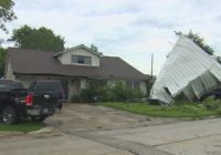 Pasadena neighbors think a tornado came through their area