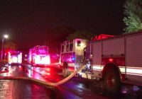 SAFD battles multiple fires, water rescues as severe weather creates problems across the city