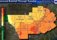 Heavy rainfall with potential for flooding in SA through Tuesday