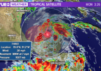 Tropical Depression Three forms on the first day of hurricane season