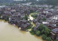 Flood warning for much of south, central and eastern China