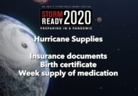 Preparing your hurricane kit during COVID-19
