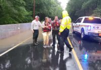 Nash County couple saved after car swept off flooded road during Flash Flood Warning