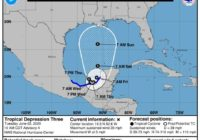 Tropical depression in Gulf upgraded; Tropical Storm Cristobal confirmed