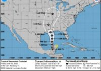 Tropical Storm Cristobal might steer clear of Houston