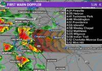 Storms, damaging winds move through the Carolinas