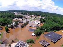 Drone: Flooding in Rocky Mount