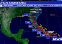 Tropical Storm Isaias forms, storm could threaten U.S.