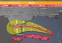 Tropics update: Tropical Storm Warning is in effect from San Luis Pass to Port Mansfield