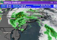Tropical Storm Fay Makes Landfall Near Atlantic City