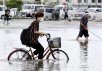 Japan battered by more heavy rain, floods; 58 dead