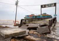 Beach area near Bob Hall Pier closed to clean up debris from Hurricane Hanna